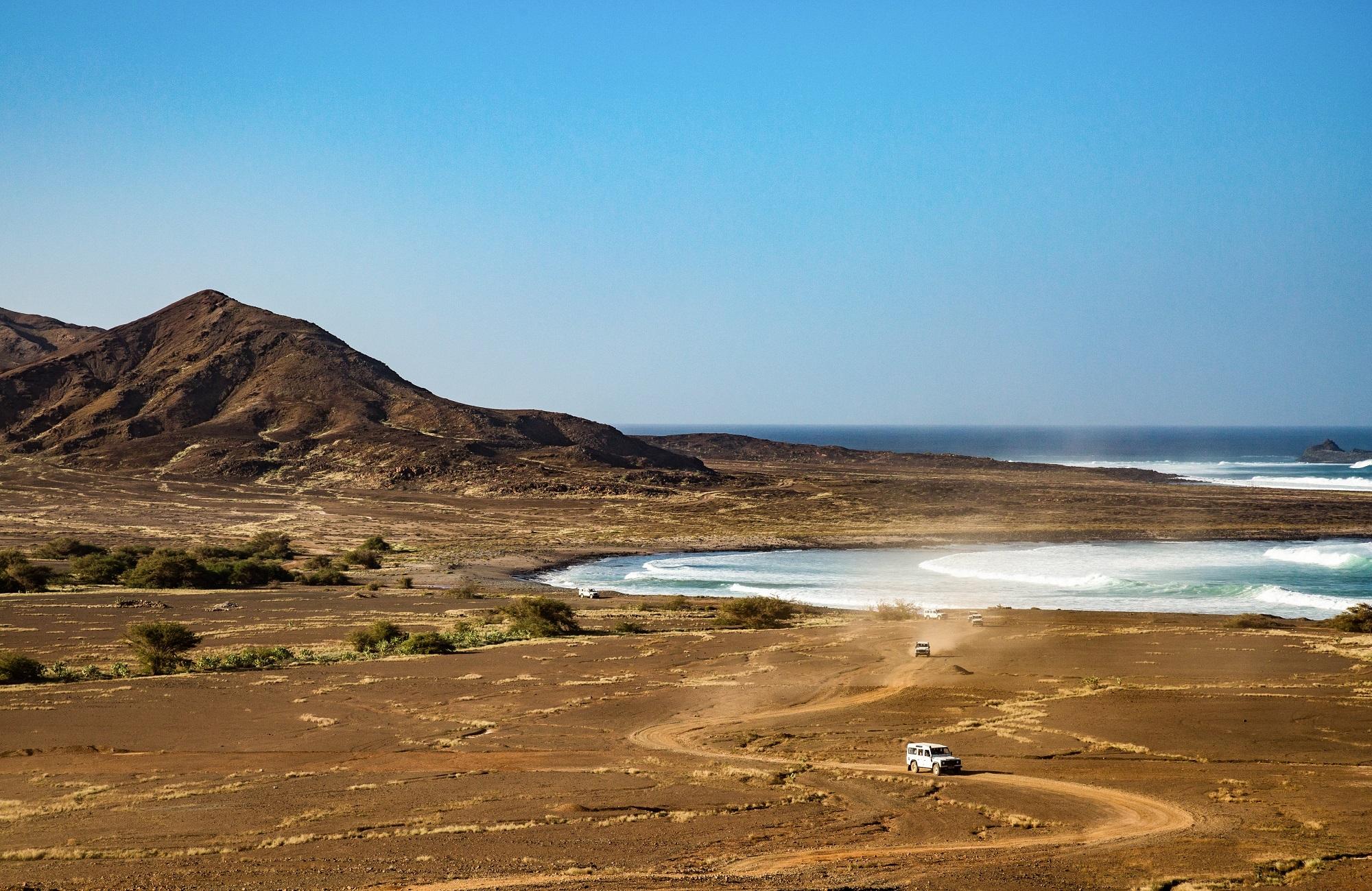 Cabo verde Salinas Ilha do Sal